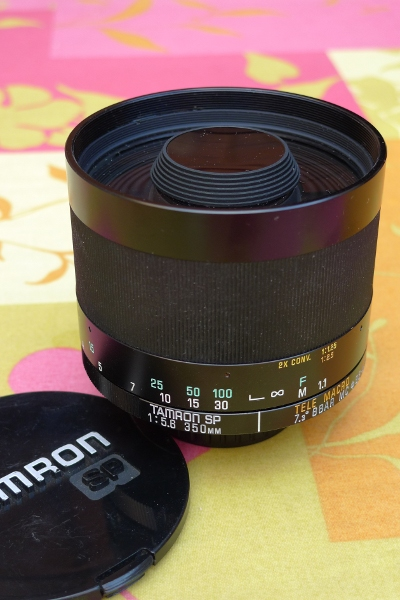 Fiche objectif 350mm tamron miroir for Objectif miroir