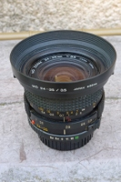 vue de côté du MINOLTA 24-35 mm
