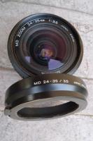 vue de face du MINOLTA 24-35 mm