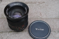 AUTO Vivitar WIDE-ANGLE 28mm 1:2.5